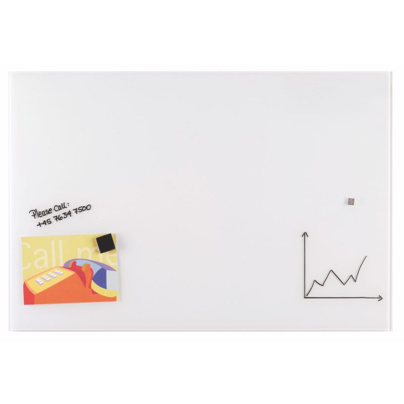 Franken Magnetic Glassboards 400 x 600mm White
