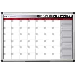 Colour Magnetic Month Wall Planner