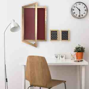 Cara-Wood-Lockable Noticeboard