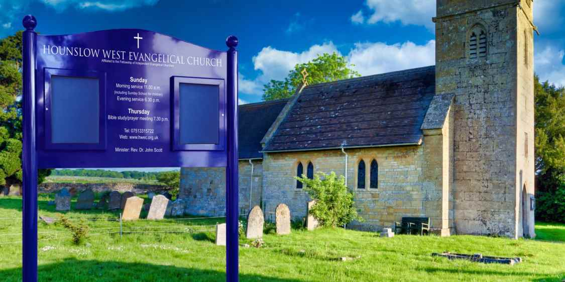Signum Church Notice Board