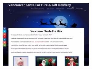 Vancouver Santa For Hire