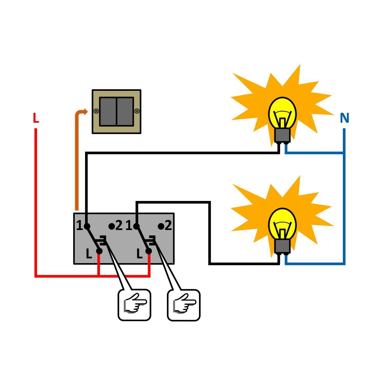 autoconstruction-autoconstructeur-interrupteur à double allumage