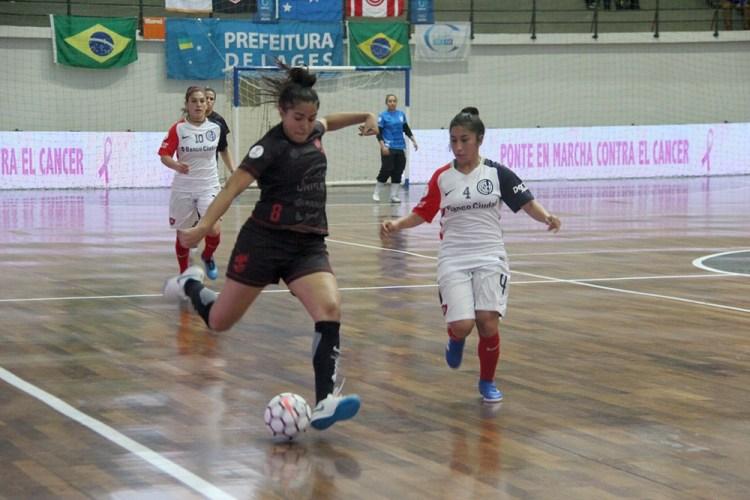 3d09e2048ab17 ... o maior momento vivido até hoje pelo esporte lageano  a grande final da  Taça Libertadores da América de Futsal Feminino entre Leoas da Serra