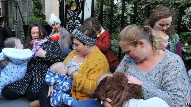 madres lactantes