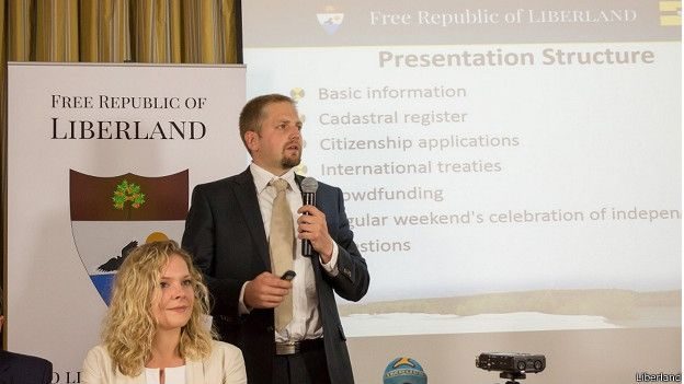 Vit Jedlicka quería crear un país donde los partidos políticos y el Estado no tuvieran tanto control sobre las libertades personales.