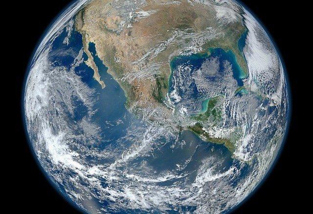 La Tierra, vista desde la Estación Espacial