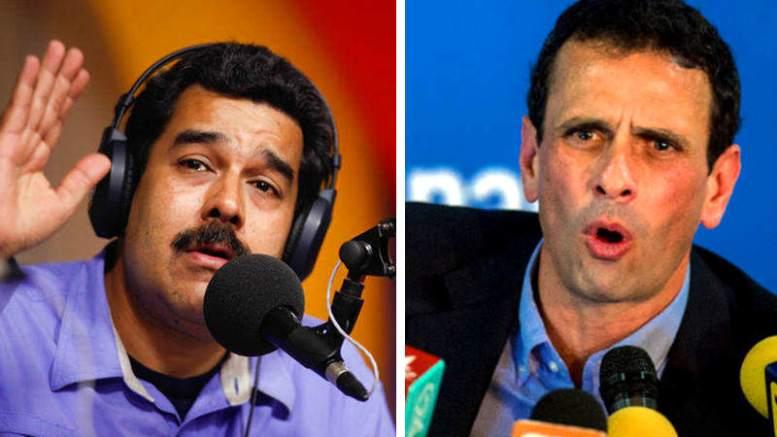 nicolas-maduro-vs-henrique-capriles