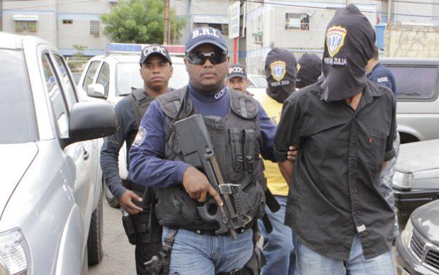 MARACAIBO VENEZUELA: 02/03/2011CICPC REALIZA UN OPERATIVO MADRU