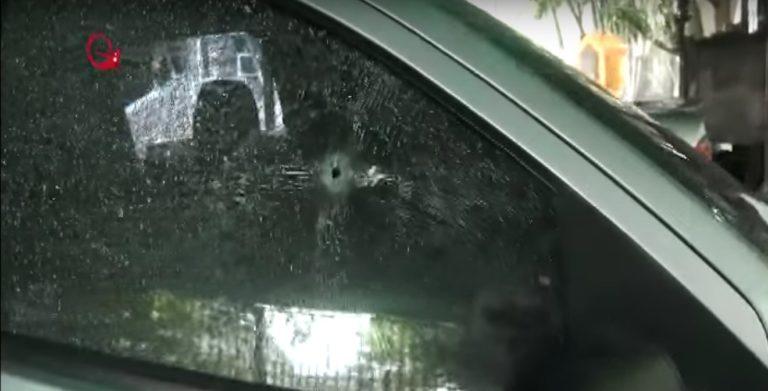 Con al menos 4 impactos de bala, así quedó el carro de Arnaldo Albornoz (FOTOS)
