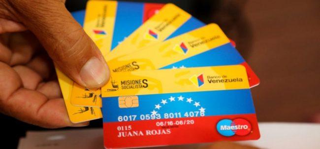 """Publican lista de los nuevos 500 mil beneficiados de """"tarjeta Hogares de la Patria"""""""