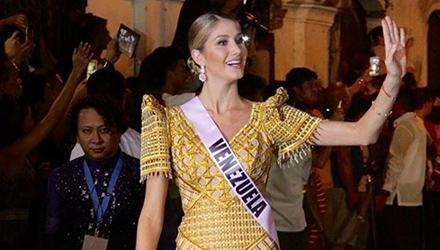 Lo que dijo Mariam Habach tras su eliminación del Miss Universo