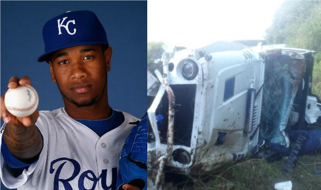 Muere el pelotero Yordano Ventura en un terrible accidente de tránsito (Fotos)