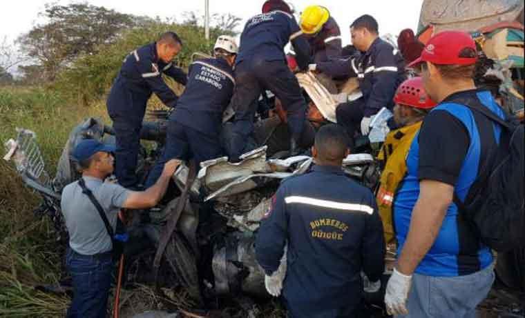 Publican lista de las víctimas del lamentable accidente en que perdieron la vida 17 personas