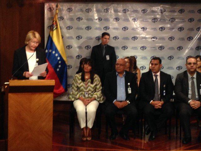 Lo que dijo la Fiscal, Luisa Ortega Díaz