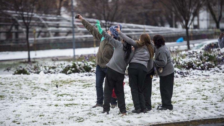chile nevada deja sin electricidad a varios poblados
