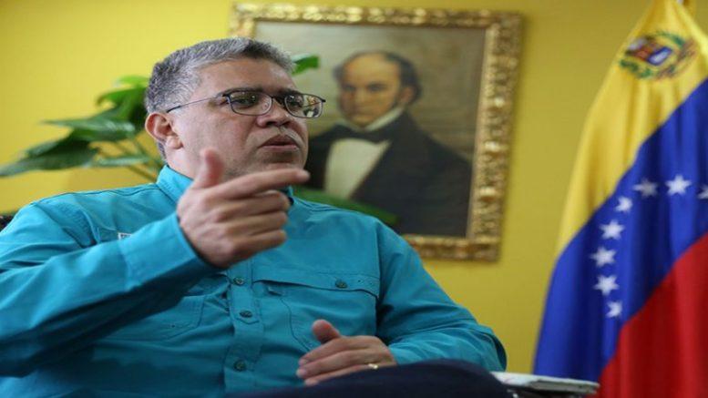 elías jaua ministro venezolano