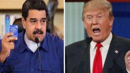 Nicolás-Maduro-y-Donald-Trump