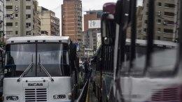 Paro técnico de transporte público