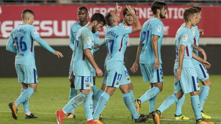 FC Barcelona inicia con buen pie copa del Rey