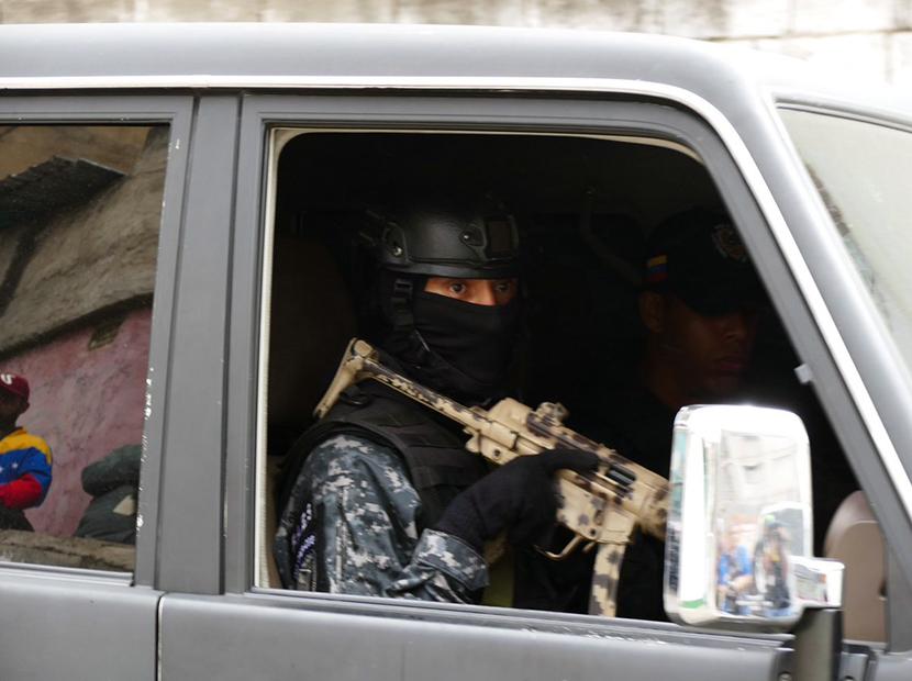Lo que pasó en Petare entre funcionarios de la Dgcim y la Guardia Nacional