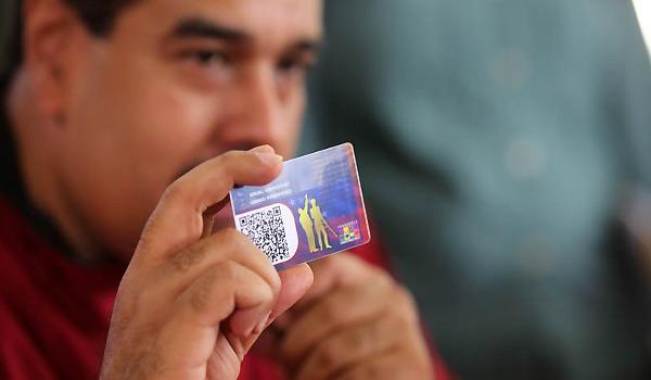 El nuevo beneficio que anunció Maduro a través del Carnet de la Patria