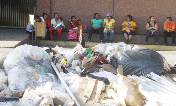 acumulación de Basura en Maracaibo
