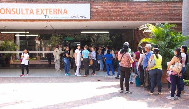 venezolanos en centros de salud de Norte de Santander