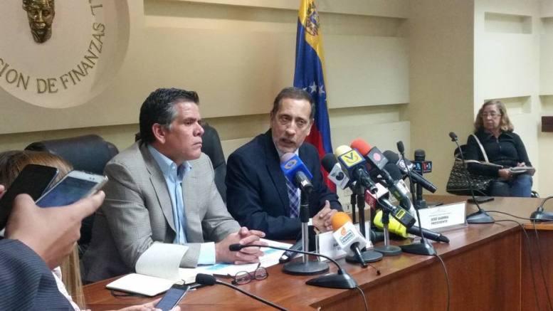 Diputados Guerra y Guzmán hablan son la inflación venezolana en 2017