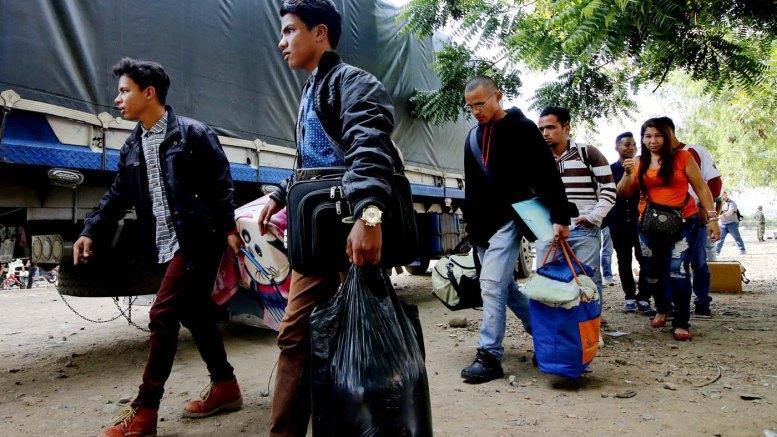 paso de migración venezolana a Colombia
