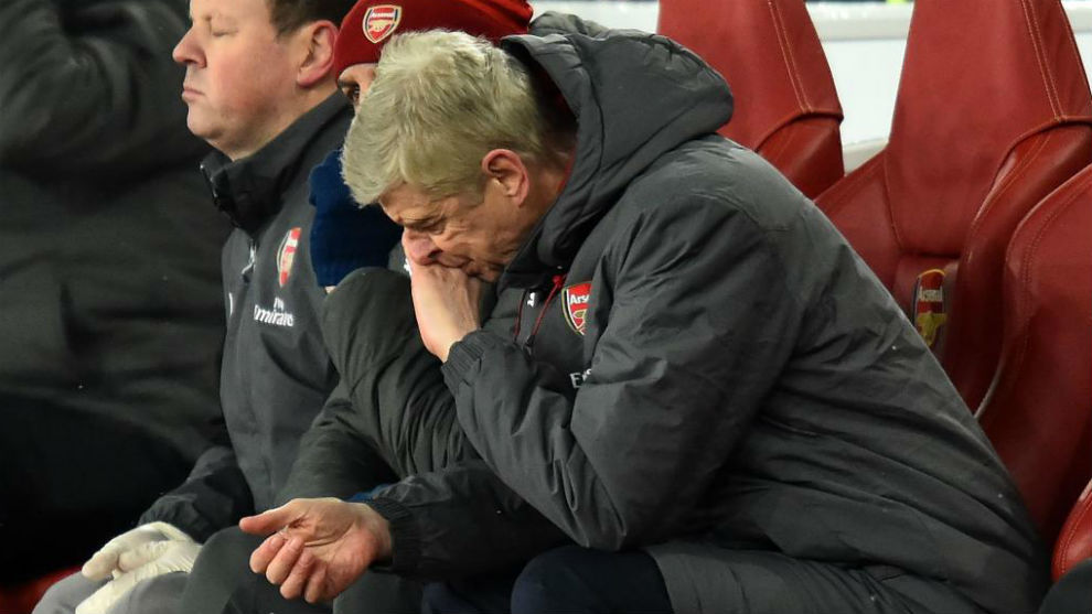 Wenger DT del Arsenal visita al Millan en octavos de la Europa League