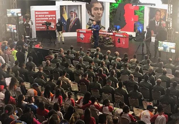 programa con el mazo dando de Diosdado Cabello