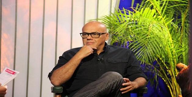 Ministro Jorge Rodríguez dando declaraciones ante la iniciativa de Estado Unidos de suspender a Venezuela de la OEA