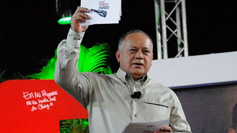 """La """"amenaza verdadera"""" de intervención a Venezuela que advirtió Diosdado Cabello"""
