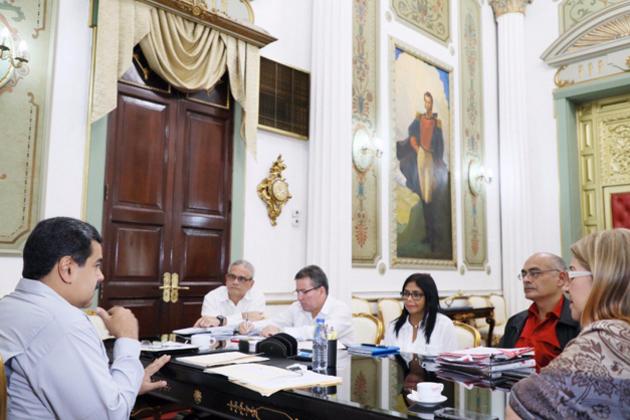 Maduro encuentro