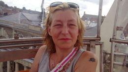mujer afectada en rusia