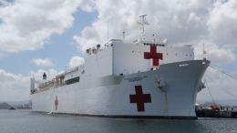 Hoy el Pentágono confirmó que el buque hospital que desplegará en aguas colombianas será el USNS Comfort
