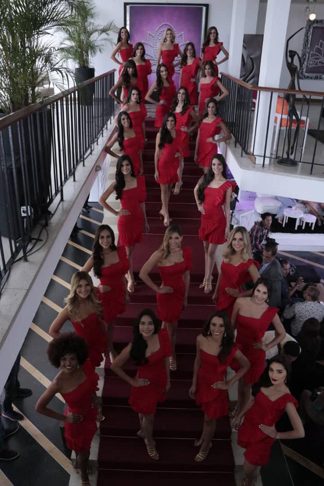 candidatas miss venezuela 2018