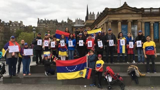 venezolanos en escocia