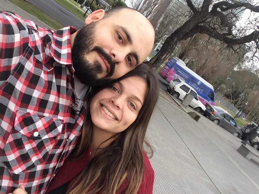 argentino y su esposa