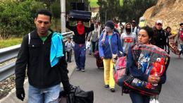venezolanos entrando a peru