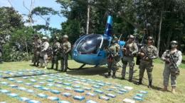 aeronave cargada de cocaina