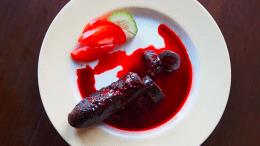 plato de comida exotico