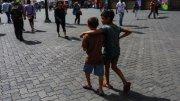 niños solos en venezuela