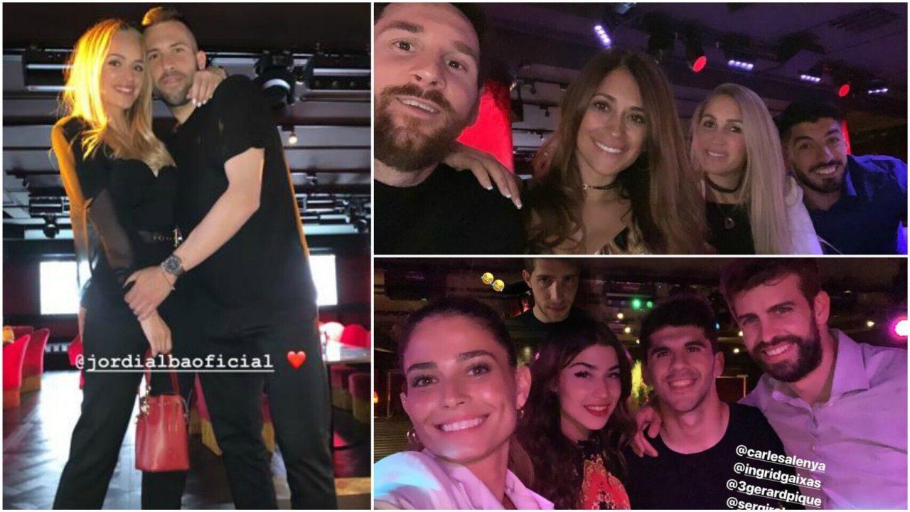 Shakira y Antonela Roccuzzo, la esposa de Messi desmienten rumores de enemistad