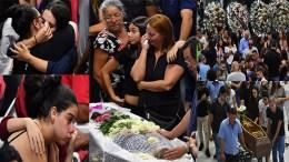 velorio por masacre en colegio de sao paulo
