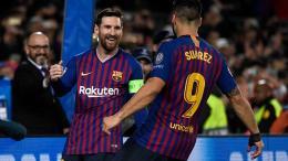messi y suarez champions 2019