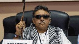 Ex líder de las FARC Jesús Santrich