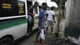 migrantes de centro america y haiti