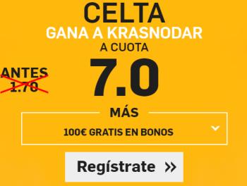 Supercuota Betfair Europa League Celta