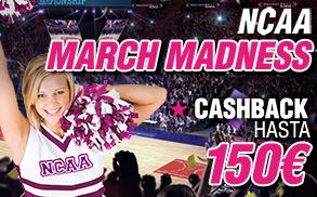 Wanabet NCAA March Madness Cashback